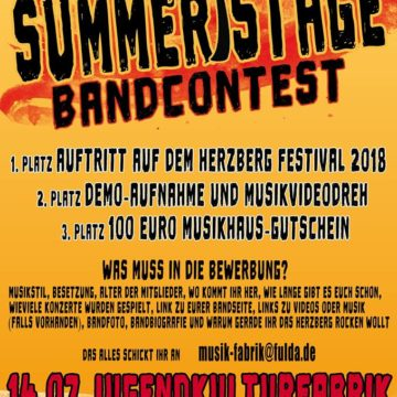 Summerstage Bandcontest