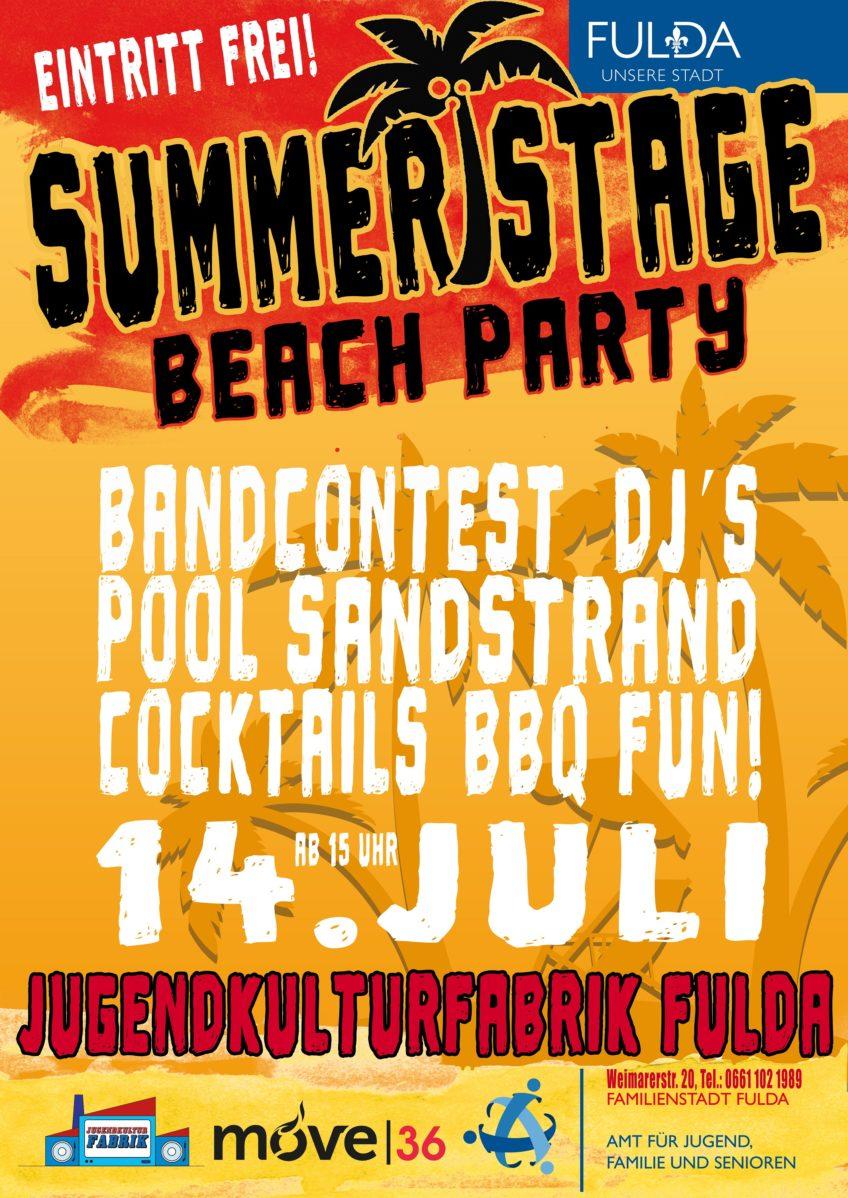 Summerstage Beach Party