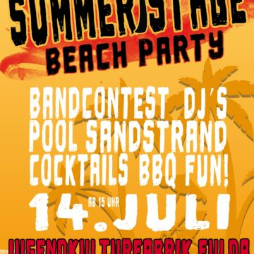 Summerstage Beach Party