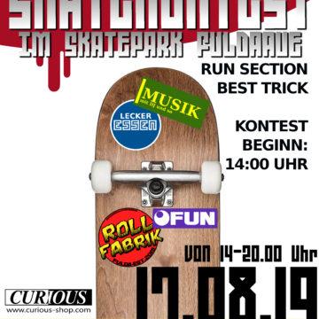 Skatekontest im Skatepark Fuldaaue
